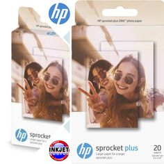 bf9b70c7843 HP Sprocket Plus Photo Paper 2LY73A Got a HP Sprocket Plus Printer  Inkjet  Online can