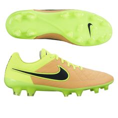 check out 95b4f 4993a Nike Tiempo Legend V FG Soccer Cleats (Canvas Volt Black)