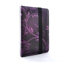 Very nice designs from TaylorHe - here TaylorHe Purple Vines Kobo Touch Cover