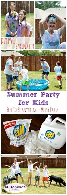 Summer Party for Kids – Free to Be Anything!