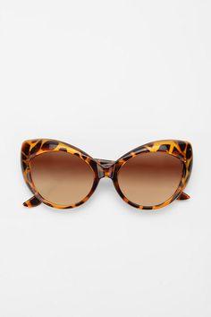 Cat eye sunglasses - the best shape!