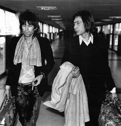 Keith-sweet velvet pants- Richards and Charlie Watts
