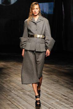 Prada Fall 2013 Ready-to-Wear Fashion Show - Liisa Winkler