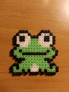Frog hama beads by Factory Beads