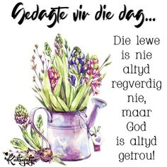 Good Morning Wishes, Day Wishes, Goeie Nag, Goeie More, Afrikaans Quotes, Godly Woman, True Words, Qoutes, Sayings