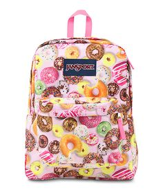JanSport® Superbreak® Backpack, take it to #thingsremembered for monogram. Love, love, love this pattern.