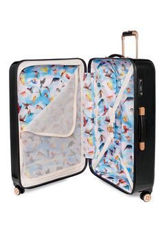 b5229aa864814 Ted Baker London  Small Cascade Floral  Hard Shell Suitcase (22 Inch)