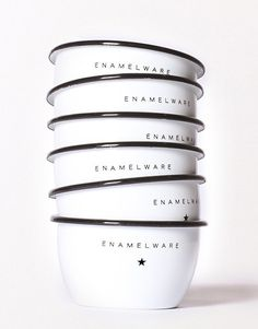 enamel steel bowls // http://bestmadeco.com/products/seamless-steadfast-enamel-steel-bowls-set-of-two-six
