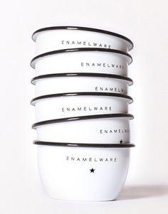 Best Made enamel steel bowls