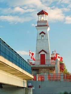 Port Credit Lighthouse, Mississauga, Canada