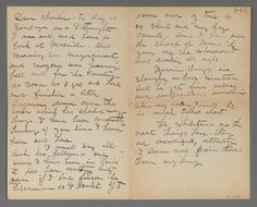 Letter from Maurice Prendergast to Charles Prendergast, Paris June 13, 1907 [postmark] at Williams College Museum of Art.