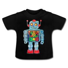 ROBOT  ----------- (3mths-24mths) ~ 1517 Robot, Sweatshirts, Sweaters, Mens Tops, T Shirt, Products, Fashion, Supreme T Shirt, Moda