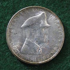 1947-s Philipinnes Peso Douglas MacArthur *BU* KM #185; Silver