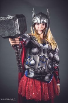 Girl Thor Cosplay for Salt Lake Comic Con 2017