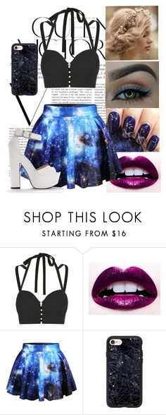 """Sacrifice"" by its-just-moi ❤ liked on Polyvore featuring Victoria Beckham, Jonathan Simkhai, Lime Crime, WithChic and Casetify"
