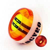 Muscle Relax Wild Gyro LED Automatic Start Power Wrist Ball Spinner 12000 RPM 30LBS Forceball Fitness Gyro Hand Ball A