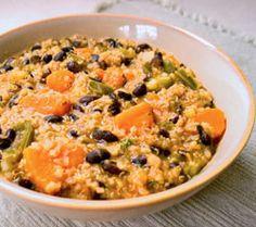 Quinoa Sweet Potato Black Bean Stew