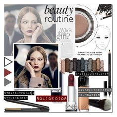 """""""Fall Routine"""" by milica1940 ❤ liked on Polyvore featuring beauty, Chanel, Shiseido, Urban Decay, Maybelline, Giorgio Armani and GHD"""