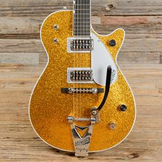 Gretsch G6129TAU Sparkle Jet Gold USED (s707)