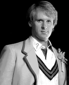 005 Dr. Doctor Who Peter Davison Pop Art Paint By Number Kit