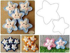 Crochet blusas juveniles new ideas Felt Patterns, Easy Crochet Patterns, Craft Patterns, Stuffed Toys Patterns, Dyi Crafts, Foam Crafts, Fabric Crafts, Felt Christmas Ornaments, Christmas Crafts