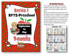 PreK Curriculum  (Nine Monthly Units Sept - May) from RFTS PreK-Kindergarten on TeachersNotebook.com -  (1478 pages)  - This is an Early Learning PreK Program Package which includes September - May Program Lesson Plans and Teaching Materials.   1478 Pages    Plan out your learning environment and grab this incredible offer while its available at this low price