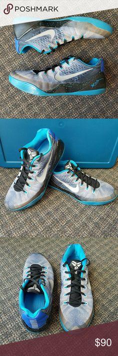 size 40 eae26 6e2d0 Nike KOBE IX Premium Basketball Shoes Game Blue Mens Nike KOBE IX PRM  Premium Basketball Shoes