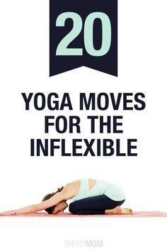 Get more flexible with these 20 yoga poses!