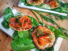 blini saumon fumé vegan