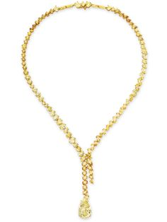 A COLORED DIAMOND PENDANT NECKLACE Liz Taylor's Jewelry Collection