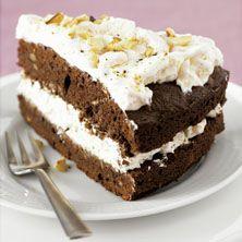 Zwitserse Chocolade-meringue taart