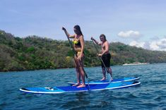 Costa Rica SUP - Bahia Rica, Paquera Greatest flat water SUP on great quality Hobie SUP board.
