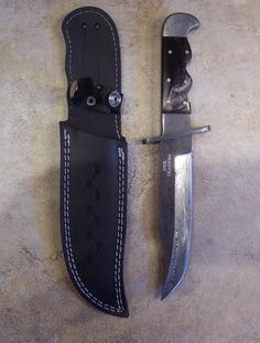 Listings View Baby Bowie - Buy custom Knives and sell custom Knives at the custom Knife marketplace. Custom Knives, Custom Hunting Knives, Bowie, Handmade, Hand Made, Handarbeit, Handmade Knives