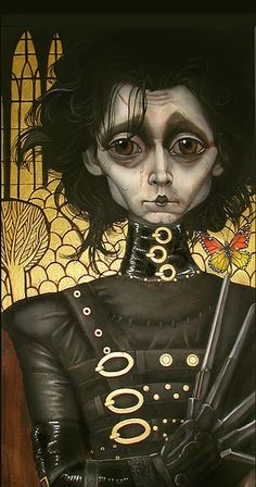 edwards cissprhands by bob doucette, for scissorhands20th exhibitio.
