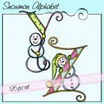 Snowman Alphabet