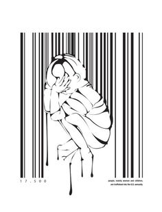 anti human trafficking ad let s not forget labor trafficking is  designer kristina cancelmi was recently recognized by cmyk magazine for her moving illustrations about human trafficking this campaign illustrates the un