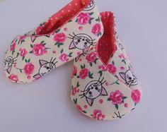 Sapato de bebê em tecido Samurai                              …