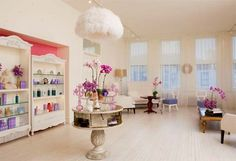 Pastel Purple Salon Interior Theme_3