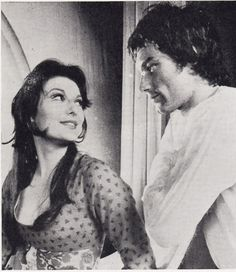 1972 - Timothy Dalton, as Berowne in a Prospect Theatre production of 'Love Labour's Lost' with Delia Lindsay as Rosaline.    $