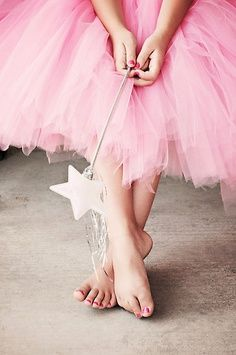 Pink tulle just is!