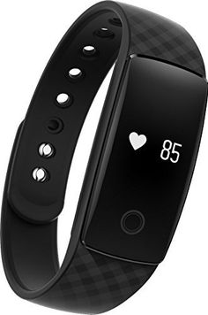Fitness Tracker Wristband DENISY Wireless Activity Smart Bracelet with Heart Rate Monitors for IOS Android *** Check out this great product.
