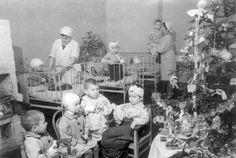 Ленинград. Новогодняя ёлка в Доме Ребёнка