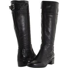 Cute black boots.