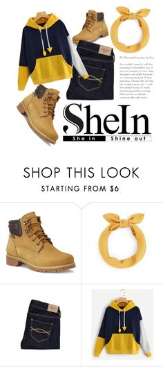 """""""SheIn"""" by skyllinegagnon ❤ liked on Polyvore featuring Eastland and Abercrombie & Fitch"""