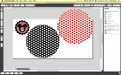 Make your own Polka dot HTV: cut the dots from white HTV and place on top of colored HTV :)