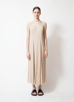 Ghost | 90's Beige Dress | RESEE