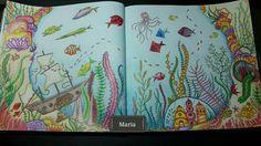 Lost Ocean DPS by Maria C Crowdey