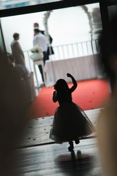 child on wedding