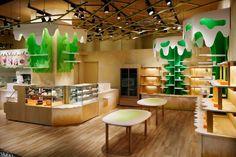 MOMOM store by Moriyuki Ochiai Architects Tokyo  Japan