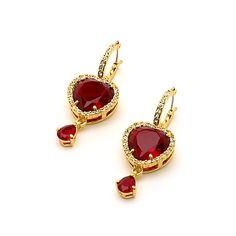 Disney Couture Jewellery Snow White Pendant Earrings